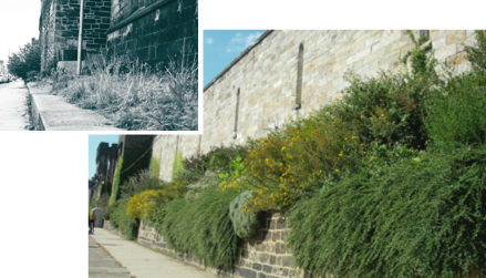 Eastern State Penitentiary, before and after