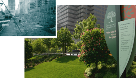 JFK Boulevard, before and after