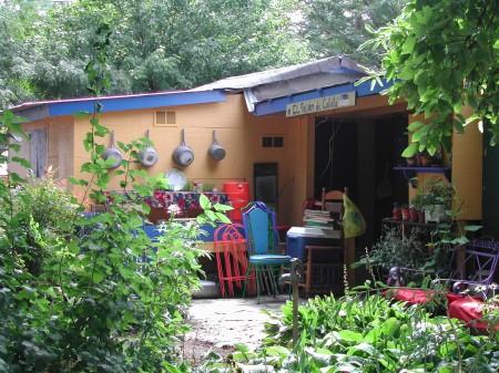 Las Parcelas kitchen