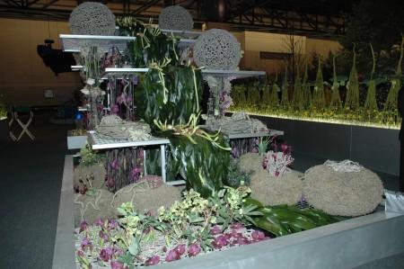 MODA Botanica's award-winning exhibit at the 2009 Philadelphia Flower Show