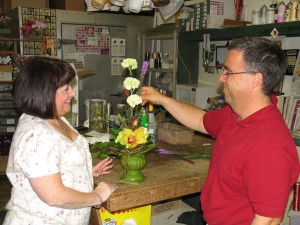 Robin and David Heller will take Flower Show guests on a floral journey.