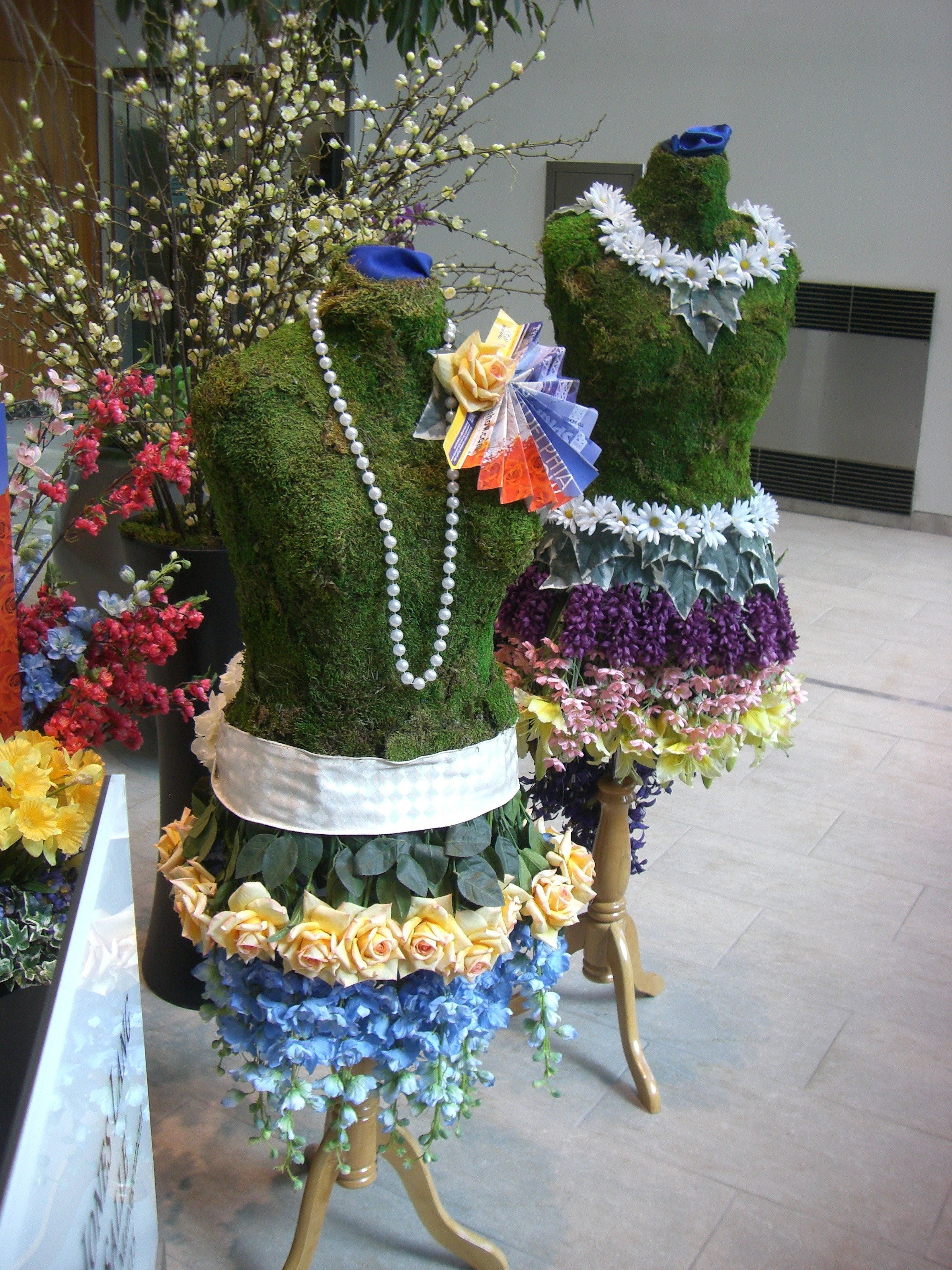 Hoffman Design Group 2011 Flower Show Display The