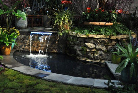 Picture of Irwin Landscaping's 2012 Flower Show Display