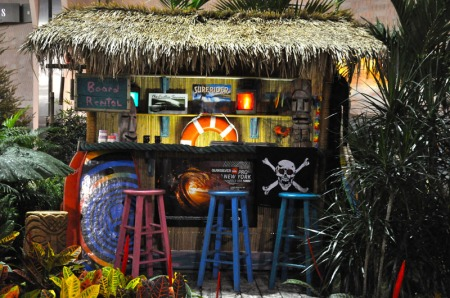 Picture of snack bar in Romano display